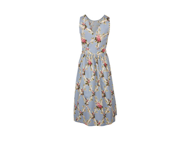 Trellis floral print wrap dress from Laura Ashley