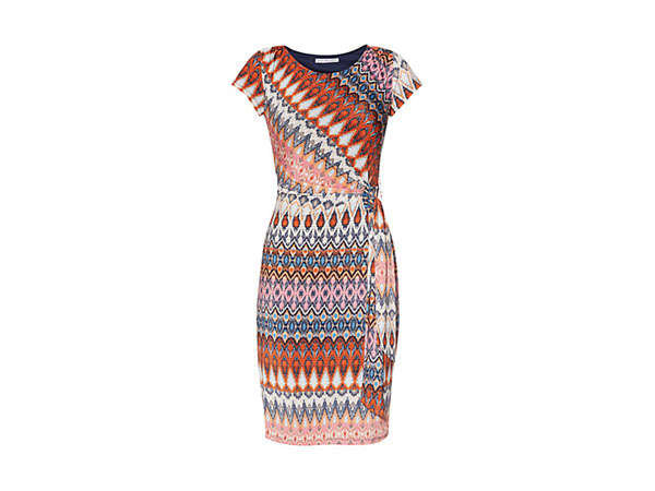 Abstract print jersey dress from Gina Bacconi