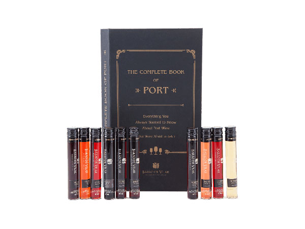 Book of Port gift set from Barao de Vilar