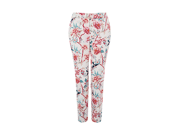 Kylie floral print trousers from Monsoon