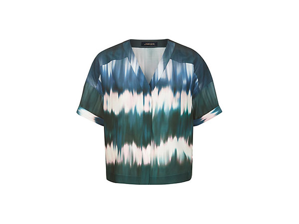 Ombre print top from Jaeger