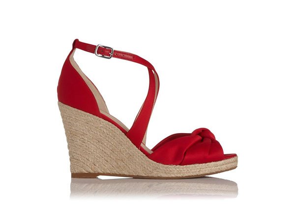 Angeline satin sandals from LK Bennett