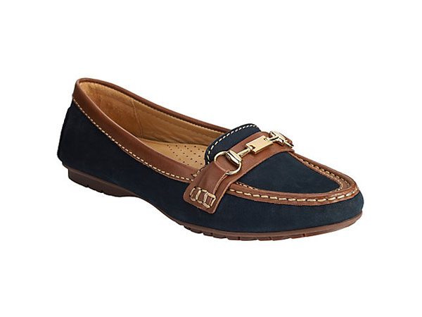 Gavi slip on moccasins from John Lewis