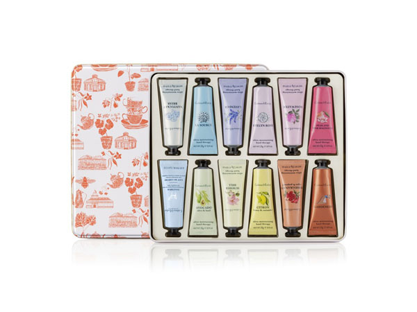 Hand therapy paint tin giftset from Crabtree and Evelyn