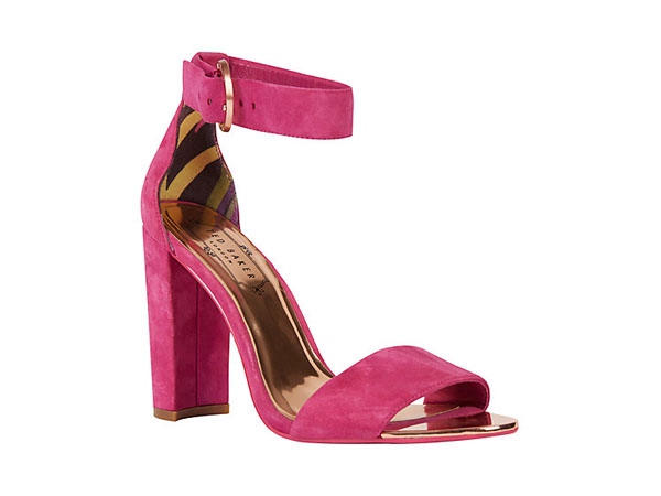 Secoa block heeled sandals from Ted Baker
