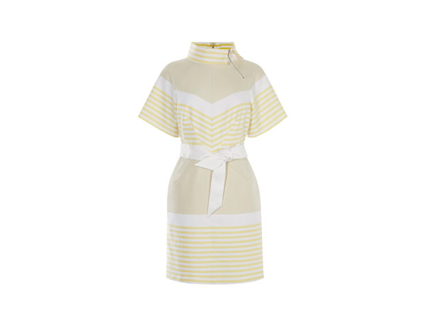 Belted stripe dress from Karen Millen