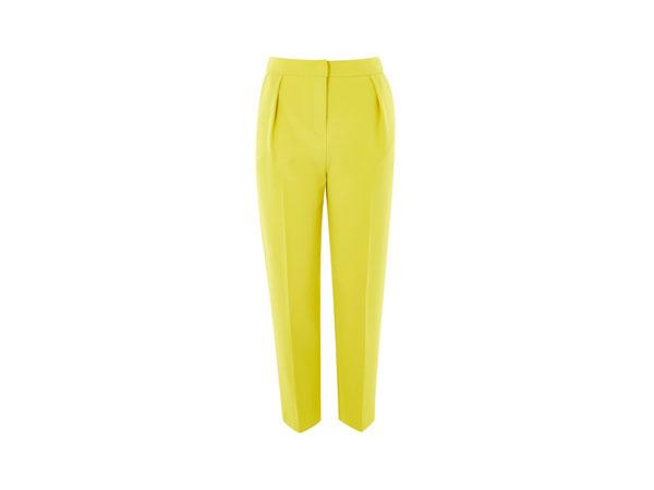 Split hem peg leg trousers from Topshop